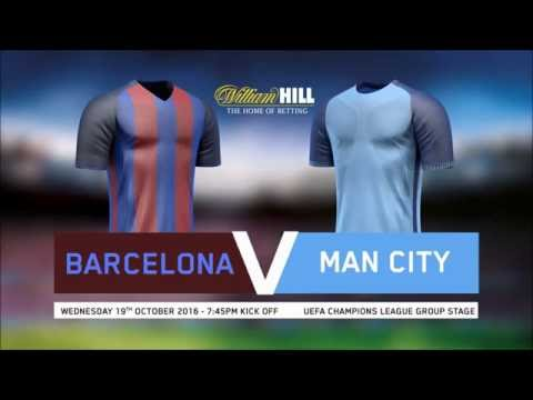 Barcelona v Man City stats preview & Robbie's bets