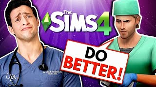 Real Doctor FAILS as Sims 4 Doctor