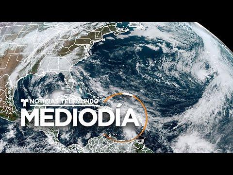 Eta recobra fuerzas y vuelve a convertirse en huracán en su camino a Florida | Noticias Telemundo