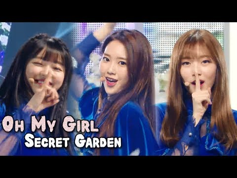[Comeback Stage] OH MY GIRL - Secret Garden,  오마이걸 - 비밀정원 Show Music core 20180113