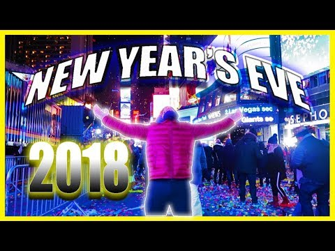 NEW YEARS EVE TIMES SQUARE 2018: THE BEST NIGHT OF MY LIFE