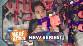 World's Largest NERF Fortress 🏰 Official Episode 2 | The NERF Nation Show w/ Zach King