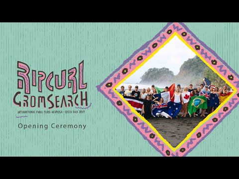 2019 Rip Curl GromSearch International Final | Opening Ceremony
