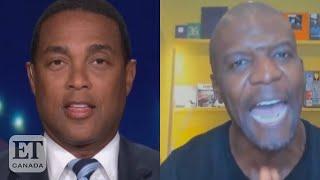 Terry Crews Defends His 'Black Lives Matter' Stance