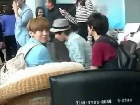 120726 Fancam Luhan EXO-M at Suvarnabhumi Airport in Thailand
