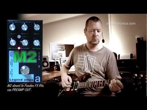 AMT Electronics : M2 Preamp & Effects Pedal