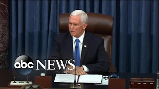 Mike Pence delivers remarks on Capitol breach