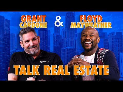 Grant Cardone asking Floyd Mayweather about his Real Estate photo