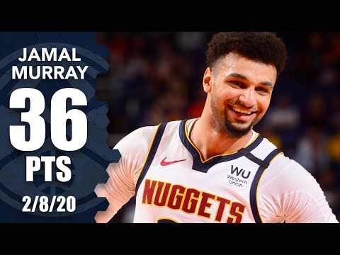 Jamal Murray drops 36 points on 17 shots in Nuggets vs. Suns | 2019-20 NBA Highlights