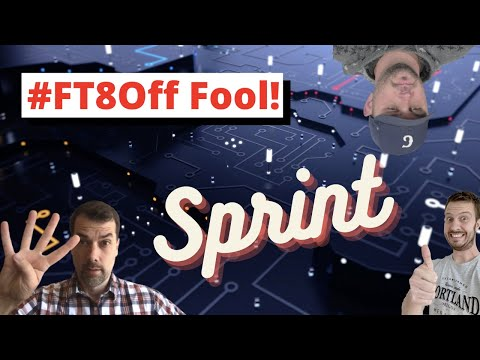 #FT8Off Sprint for April Fools Day