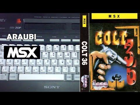 Colt 36 (Topo Soft, 1987) MSX [002] El Kiosko