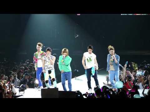 [HD] SHINee - Replay @ SMTown Live '10  World Tour in LA