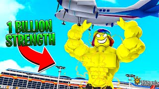 I BECAME THE STRONGEST IN THE WORLD.. (Roblox)