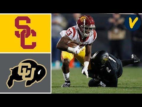 USC vs Colorado Highlights | Week 9 | College Football Highlights
