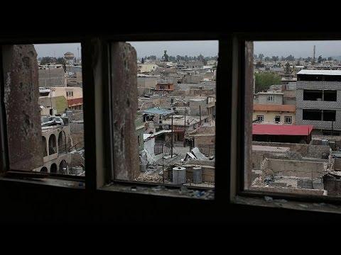 شاهد معركة الموصل مستمرة