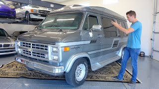 I Bought The Greatest Luxury Vehicle of the 1980's! Chevy G20 Conversion Van