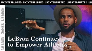 LeBron James breaks down his 'More Than An Athlete' mission