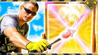 Mad Science: MELTING Metal with Sunlight