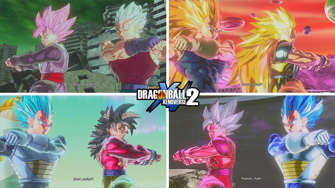 Goku And Vegeta Fusions Dragon Ball Xenoverse 2 Mods