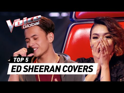 The Voice   BEST ED SHEERAN Blind Auditions [PART 2]