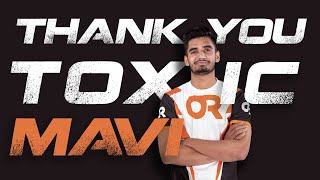Thank you Toxic Mavi| Mavi Farewell | OR ESPORTS | PUBG Mobile