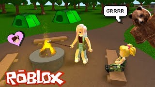 Baby Goldie  Camping  Fail in Bloxburg - Roblox Roleplay Titi Games