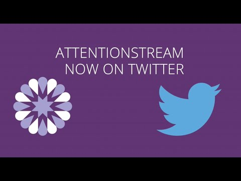 SocialFlow CEO Jim Anderson Announces AttentionStream on Twitter