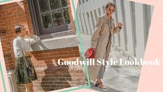 HOW TO STYLE GOODWILL GOODIES  - Lookbook | LazzzySundaze