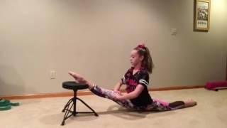 Crazy flexibility skills ♡
