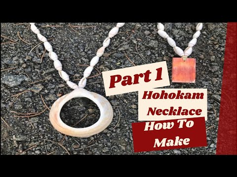 Making A Hohokam Style Necklace (Part 1 of 2)