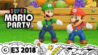 Super Mario Party Live Gameplay Demo   E3 2018
