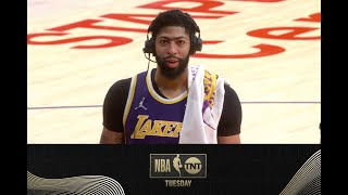 Anthony Davis Joins the TNT Tuesday Crew After the Los Angeles Lakers' Thrilling OT Win | NBA on TNT