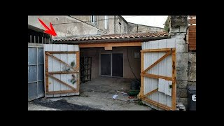 Friends LAUGHED over this guy , buying an OLD garage! But later, they were dreaming to
