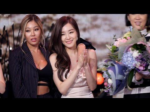161224 소녀시대(SNSD) JYP 수상 Cut [티파니] Tiffany Focus 직캠 Fancam (2016 KBS 연예대상) by Mera