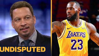 "UNDISPUTED | Chris Broussard ""Lakers in trouble""  LeBron return to court but Lakers still lose"