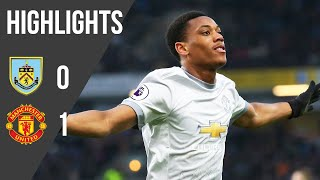 Burnley 0-1 Manchester United | Premier League Highlights (17/18) | Manchester United