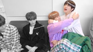 90 seconds of seo changbin being a big baby
