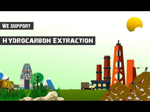 We support Hydrocarbon Extraction
