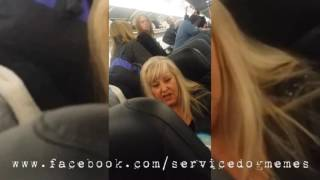 """Untrained """"Service Dog"""" on Airplane"""