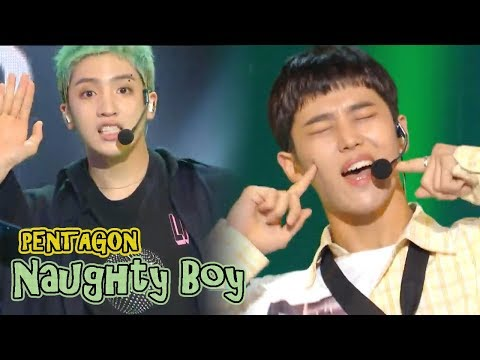 [HOT] PENTAGON - Naughty boy,  펜타곤 -  청개구리 Show Music core 20181006