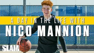 NICO MANNION: Arizona's Player of the Year❗️(Part 1) | SLAM Day in the Life