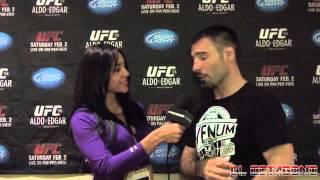 UFC 156 - Isaac Vallie-Flagg Post Fight Interview