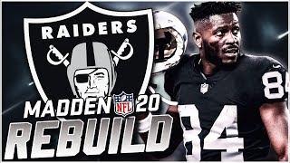 Rebuilding the Oakland Raiders | Antonio Brown Retires? Madden 20 Franchise