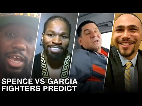 FIGHTERS & EXPERTS PREDICT ERROL SPENCE JR VS DANNY GARCIA
