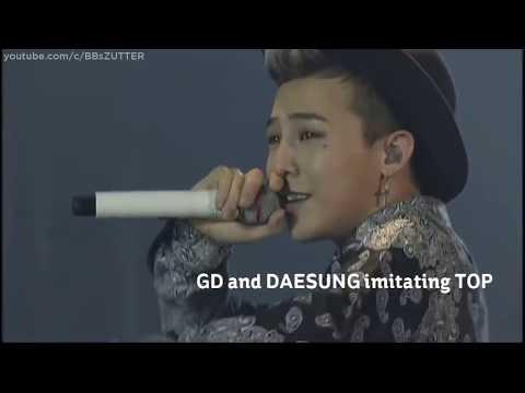 Bigbang imitating each other compilation