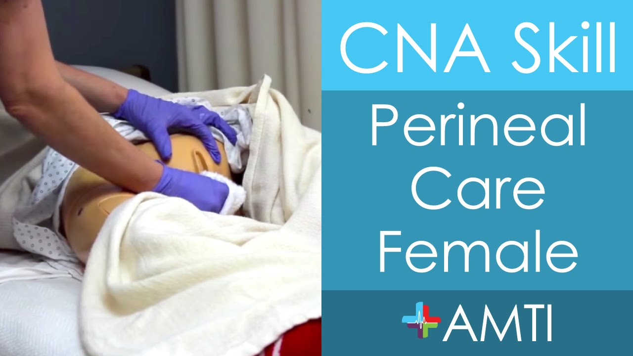 cna skill perineal care female youtube. Black Bedroom Furniture Sets. Home Design Ideas