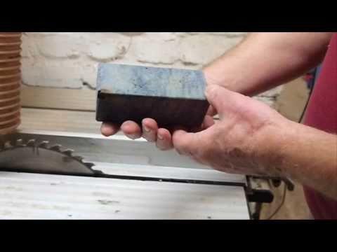 stabilisiertes holz messergriff esche maser youtube. Black Bedroom Furniture Sets. Home Design Ideas
