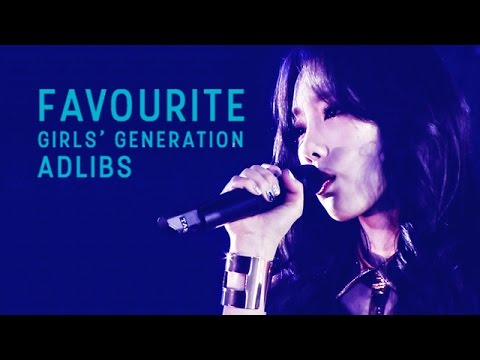 Favourite Girls' Generation Adlibs and High Notes | Part 3 (Ballad Edition)