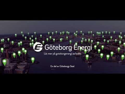 Göteborg Energis laddsatsning - över 1 000 laddplatser.