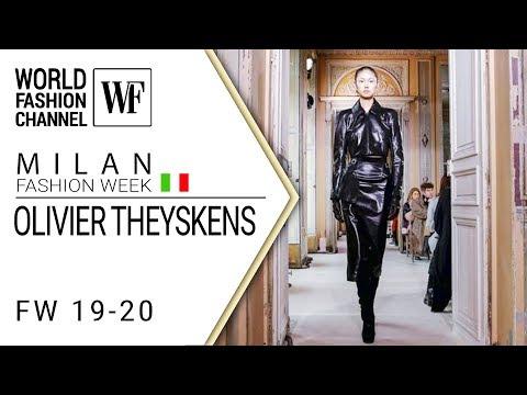 Olivier Theyskens | Fall-winter 19-20 Paris fashion week